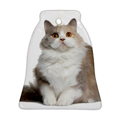 Cutefat Cat  Bell Ornament (two Sides)