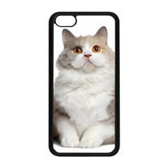 Cutefat Cat  Apple Iphone 5c Seamless Case (black) by goodart