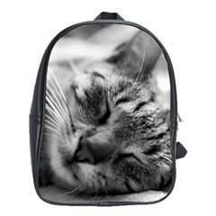 Adorable Animal Baby Cat School Bag (large)