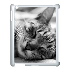 Adorable Animal Baby Cat Apple Ipad 3/4 Case (white)
