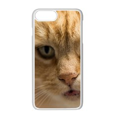 Animal Pet Cute Close Up View Apple Iphone 7 Plus Seamless Case (white)