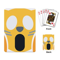 Cat Emoji  Playing Card