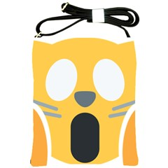 Cat Emoji  Shoulder Sling Bags