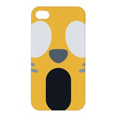 Cat Emoji  Apple Iphone 4/4s Premium Hardshell Case