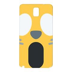 Cat Emoji  Samsung Galaxy Note 3 N9005 Hardshell Back Case
