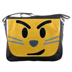 Cat Emoji Messenger Bags