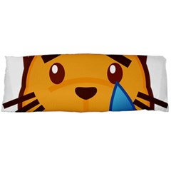 Cat Emoji Sad  Body Pillow Case (dakimakura)