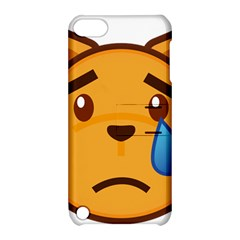 Cat Emoji Sad  Apple Ipod Touch 5 Hardshell Case With Stand