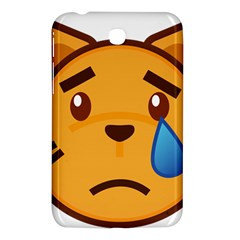 Cat Emoji Sad  Samsung Galaxy Tab 3 (7 ) P3200 Hardshell Case