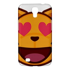 Smiling Cat Face With Heart Shape Samsung Galaxy Mega 6 3  I9200 Hardshell Case