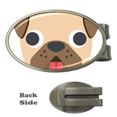 Dog Emojione Money Clips (oval)