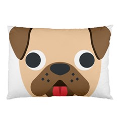 Dog Emojione Pillow Case
