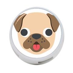 Dog Emojione 4 Port Usb Hub (one Side)