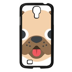 Dog Emojione Samsung Galaxy S4 I9500/ I9505 Case (black)