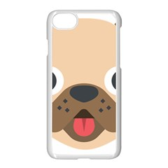 Dog Emojione Apple Iphone 7 Seamless Case (white)