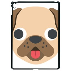 Dog Emojione Apple Ipad Pro 9 7   Black Seamless Case