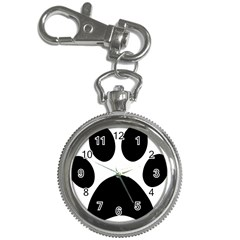 Paw Foot Print Key Chain Watches