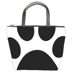 Paw Foot Print Bucket Bags
