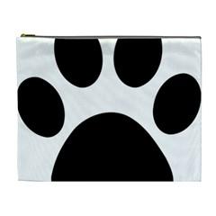 Paw Foot Print Cosmetic Bag (xl)