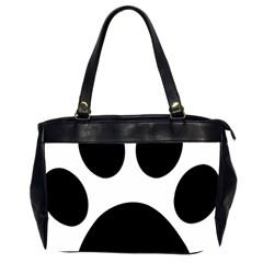 Paw Foot Print Office Handbags (2 Sides)