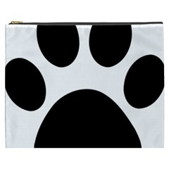 Paw Foot Print Cosmetic Bag (xxxl)