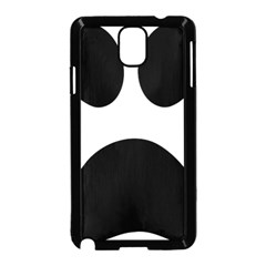 Paw Foot Print Samsung Galaxy Note 3 Neo Hardshell Case (black)