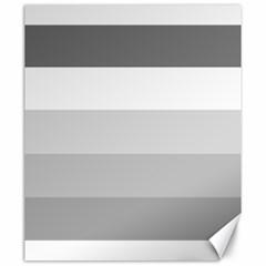 Elegant Shades Of Gray Stripes Pattern Striped Canvas 20  X 24