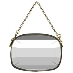 Elegant Shades Of Gray Stripes Pattern Striped Chain Purses (one Side)