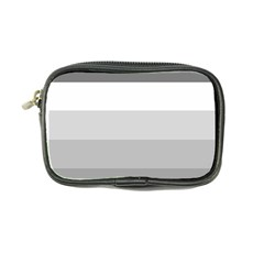 Elegant Shades Of Gray Stripes Pattern Striped Coin Purse