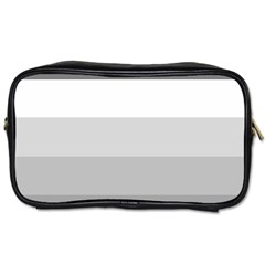 Elegant Shades Of Gray Stripes Pattern Striped Toiletries Bags 2 Side by yoursparklingshop