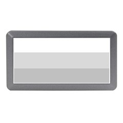 Elegant Shades Of Gray Stripes Pattern Striped Memory Card Reader (mini)
