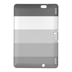 Elegant Shades Of Gray Stripes Pattern Striped Kindle Fire Hdx 8 9  Hardshell Case