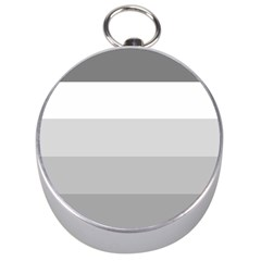 Elegant Shades Of Gray Stripes Pattern Striped Silver Compasses