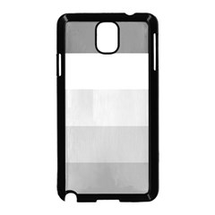 Elegant Shades Of Gray Stripes Pattern Striped Samsung Galaxy Note 3 Neo Hardshell Case (black)