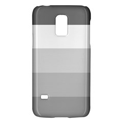 Elegant Shades Of Gray Stripes Pattern Striped Galaxy S5 Mini