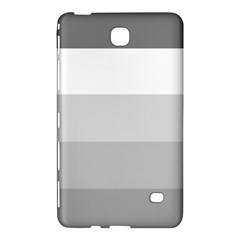 Elegant Shades Of Gray Stripes Pattern Striped Samsung Galaxy Tab 4 (7 ) Hardshell Case