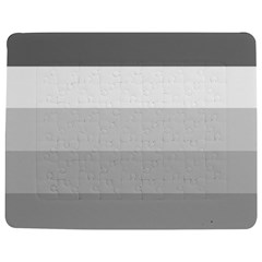 Elegant Shades Of Gray Stripes Pattern Striped Jigsaw Puzzle Photo Stand (rectangular)
