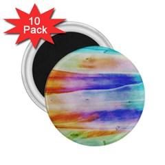 Background Color Splash 2 25  Magnets (10 Pack)  by goodart