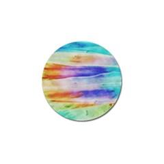 Background Color Splash Golf Ball Marker (10 Pack)
