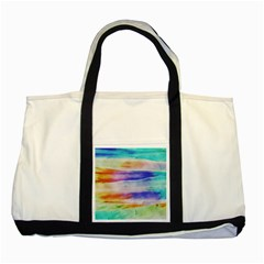 Background Color Splash Two Tone Tote Bag by goodart