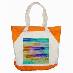 Background Color Splash Accent Tote Bag by goodart