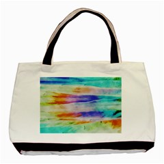 Background Color Splash Basic Tote Bag (two Sides)