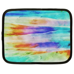 Background Color Splash Netbook Case (large) by goodart