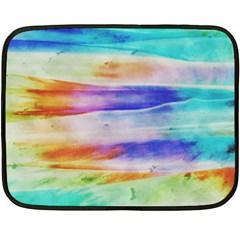 Background Color Splash Double Sided Fleece Blanket (mini)  by goodart