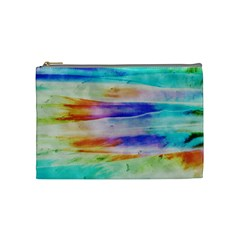 Background Color Splash Cosmetic Bag (medium)  by goodart