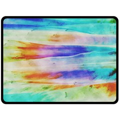 Background Color Splash Fleece Blanket (large)  by goodart
