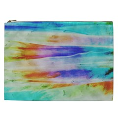 Background Color Splash Cosmetic Bag (xxl)  by goodart
