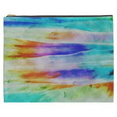 Background Color Splash Cosmetic Bag (xxxl)  by goodart