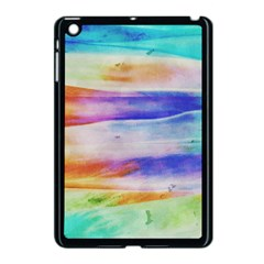 Background Color Splash Apple Ipad Mini Case (black)