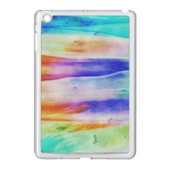 Background Color Splash Apple Ipad Mini Case (white)